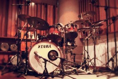 Metropolis Studio – Studio 1 – Live Room, drums